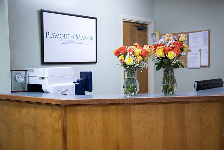 front desk plymouth manor